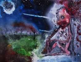 Suicide Moon by FacelessFiend6