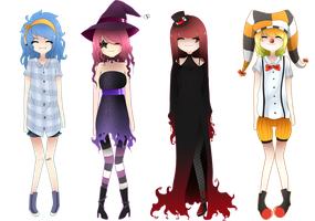 Adoptableees. [CLOSED] by D-lime