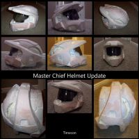 master chief helmet 2 by TIMECON