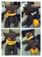 Banette plush by LRK-Creations