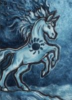 aceo for silverybeast by kailavmp