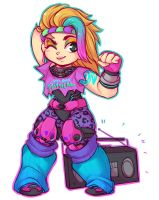 Rockin' the 80's by MagicalZombie