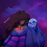 Undertale: Just shoot for the stars by Geeflakes-art