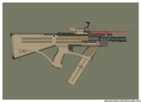 Wasteland Arms Hiram SMG by Direrain