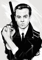 Andrew Scott (as Jim Moriarty or vice versa) by obscurial