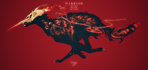 WARRIOR ADOPT AUCTION closed by Volinfer