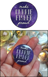 Make Carrie Fisher proud (badge) by Kata-elf