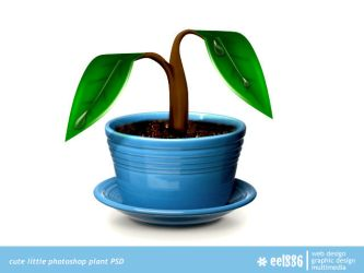 plant psd file by eEl886