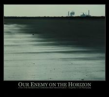 Our Enemy on the Horizon by Isquiesque