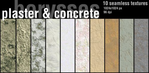 Plaster and concrete by borysses