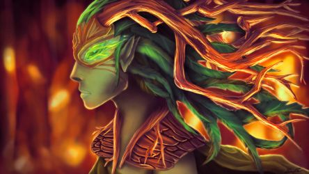 Eclipsed by Fire by SolaceBe