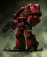 Blood Angel :collaboration: by Scarecrovv