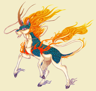 kirin by mechanicalmasochist