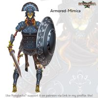 Rosgladia: Armored Mimica by Wen-M