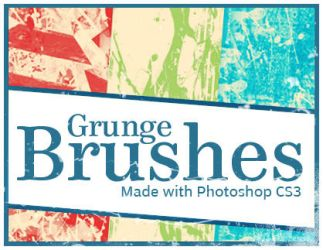 Grunge Brushes by Lydia-distracted
