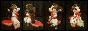 Seyeba Standard Bagbean Plush by The-Plushatiers