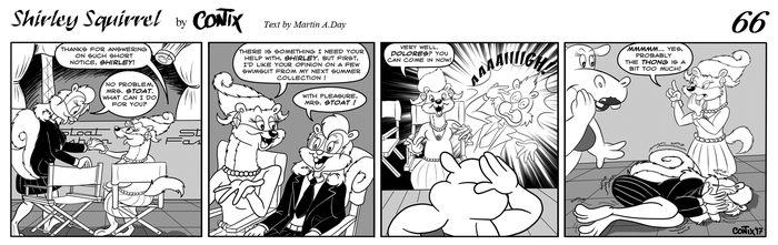 Shirley Squirrel - strip 66 - ENG by Contix