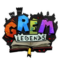 Grem Legends logo by melvindevoor