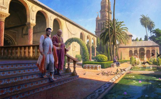 Intrigue in Dorne by 1oshuart