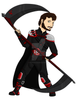 Scythe Weilder [Commission Sprite] by toriegarcia89