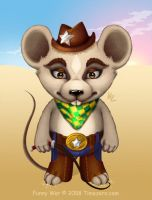 Mouse-cowboy by Beffana