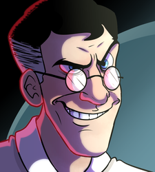 Medic In His Natural State by MrDataTheAwesome