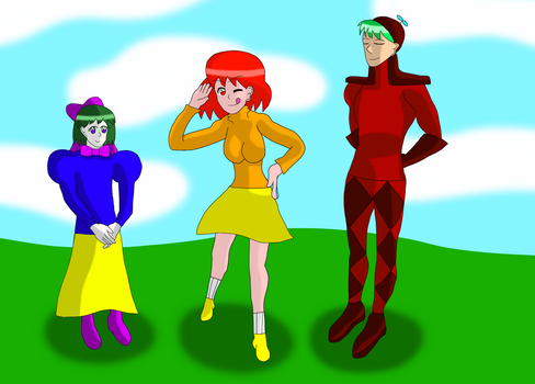 Gissy Characters I Voiced by AfroOtaku917