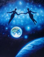 Cosmic soulmates by CORinAZONe