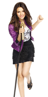 Victoria Justice Png by Tinistas