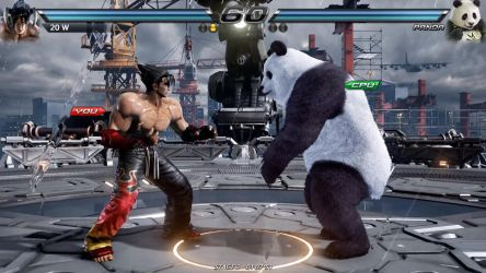 TEKKEN 7 [PC] Custom Map - Mishima Building Storm by GODLIKE99KINGZ