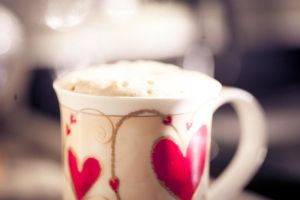 Frothy Vanilla Coffee by thesashabell