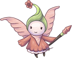 Ni No Kuni - Sweetpea Sprite by Bandxoh