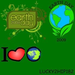 HAPPY EARTH DAY, EVERYONE by lucky2hip182