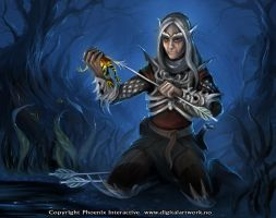 Kornell Calix - Warlord CCG by Shockbolt