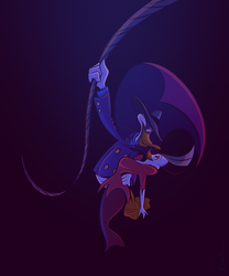 Darkwing Duck and Morgana by hard-headed-woman