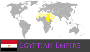 Greater Egyptian Empire by PrussianInk