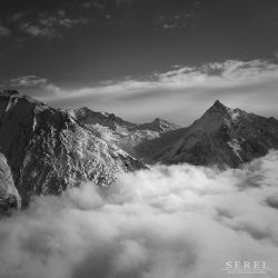 Alps in Valais by serel