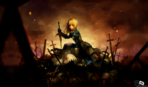 Bloody Hill - Saber by LucidAPs