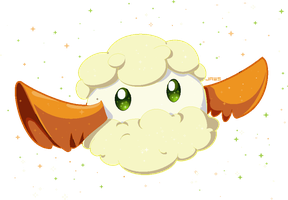 Shiny Cottonee