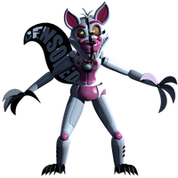 Rapetime Funtime Foxy [FULL BODY RENER 2K] by CoolioArt