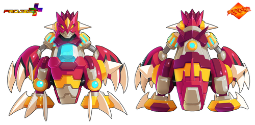 Commission: Robo-Groudon Zero Concept by ultimatemaverickx