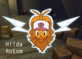 Hilda Rotom TF by TF-Shopper