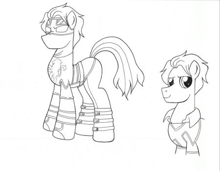 Ponified Captain Britain by jmkplover