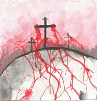 At The Cross by DypheAnna