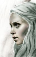 Game Of Thrones Daenerys Targaryen Emilia Clarke by masteryue