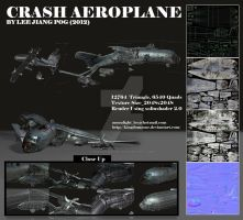 Crash_aeroplane by kingdomzone