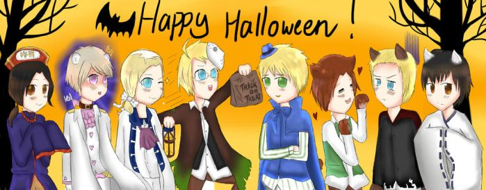 APH: Happy Halloween! by serpchi