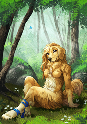 Forest Floof by TasDraws