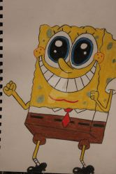 Spongebob is awesome :D by RedPandaLover