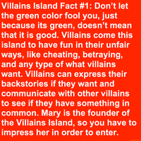Villains Island Fact #1 by Mario1998